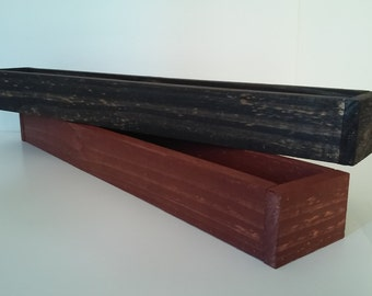 24 inch handmade wood planter box SALE