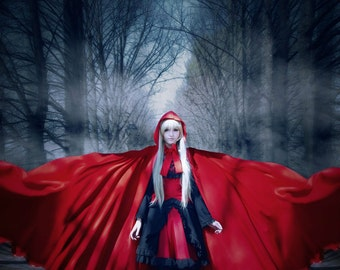 Red Riding Hood Cosplay Print