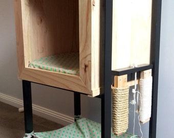 Cat hide box & Hammock