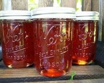 Homemade Strawberry Jalapeño Jelly- half pint jar
