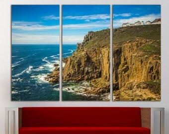 Lands End Coast Wall Art Lands End wall decor Lands End print Coast wall art Coast wall decor Large Canvas Print Decor