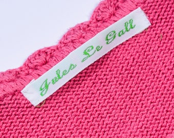 Woven Sew-on Name Labels,name tapes, clothing name labels,name tags, school labels, indentification labels, name labels