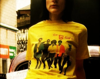B52'S t shirt rock lobster punk surf garage punk Gildan