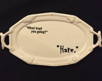 The Hound platter