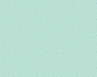 Mint Star Fabric - Riley Blake Fabric