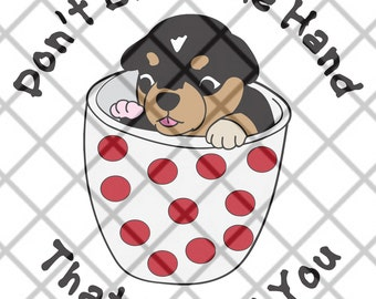Don't Bite The Hand That Feeds You SVG