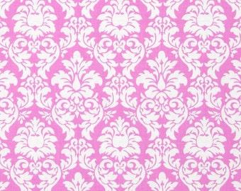 Candy Dandy Damask Pink Michael Miller Fabric