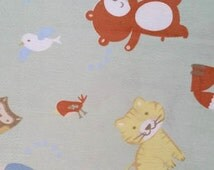 Animal Fleece Tie Blanket