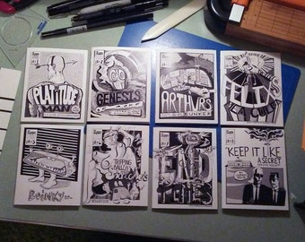 Eff Comix issues #1-8