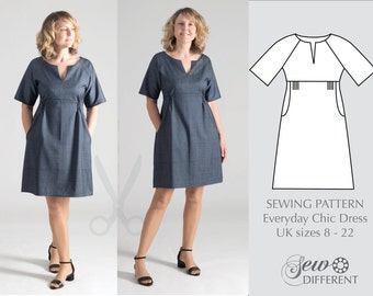 Sewing pattern - Everyday Chic Dress