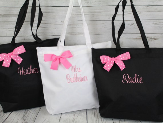Wedding Gift Bags Bridesmaids : ... Tote Bag, Bridesmaids Gifts, Wedding Tote Bag, Bridesmaids Bags