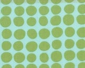 Amy Butler Mint Dots Timeless Fabrics for Free Spirit cotton quilt fabric - half yard
