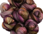Memoir battlings - mini batts (2 oz) superwash superfine merino wool and silk -- Literary Series
