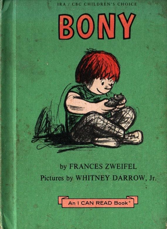 Bony An I Can Read Book - Frances Zweifel - Whitney Darrow, Jr. - 1977 - Vintage Kids Book