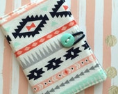 South West - Pocket Pouch - Wallet - Business Card Holder / ID Case / Photo Holder