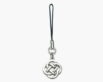 Celtic Round Knot Loop Charm for Planners Journals Wallets