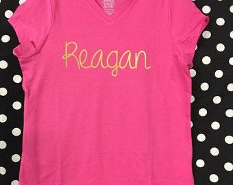 Boutique~Personalized ~Monogrammed Drum Set Applique T-Shirt Got Drums~ Chevron
