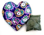 Catnip Valentine Heart Toy and Catnip Cats Hearts and Flowers   Refillable