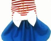 Dog Dresses:  Dog Clothes Nautical Sailor Dress for your Yorkie, Chihuahua, Pom, pekinese