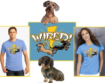 Wired / Wirehaired Dachshund T-Shirt