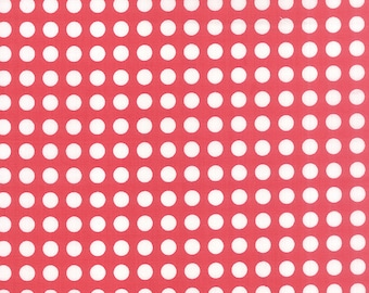 SALE - Gooseberry - Polka Dots in Berry Pink: sku 5013-13 cotton quilting fabric by Lella Boutique for Moda Fabrics - 1 yard