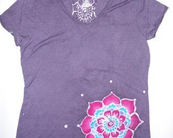 Women's Batik Mandala Tshirt