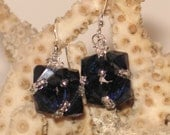 Swarovski Crystal Woven Earrings