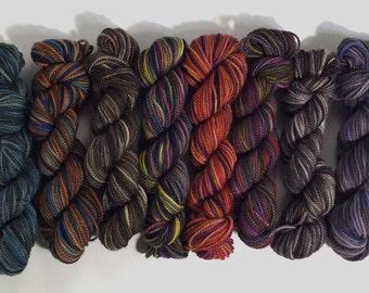 Loreley Scarf Knitting Kit: Pattern and Koigu Yarn - Magic Spell