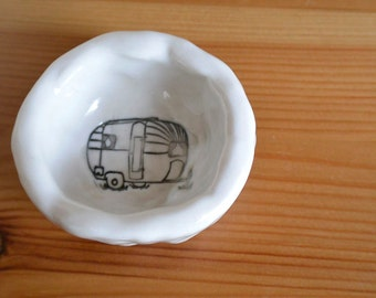 Little Ring Bowl with Travel Trailer