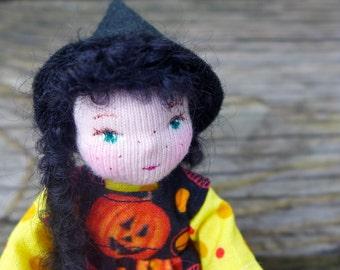 Halloween Witch - Art Doll Minature