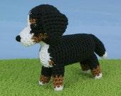 PDF AmiDogs Bernese Mountain Dog amigurumi dog CROCHET PATTERN