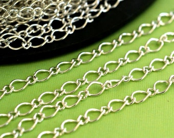 Sale 5 Feet Silver Mother-Son Chains CHSM021Y-S