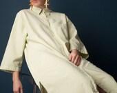 RESERVED. some kind of bliss light pale green shirt dress / minimalist dress / cotton dress / 1751d