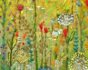 Wildflower Crush - Botanical Print