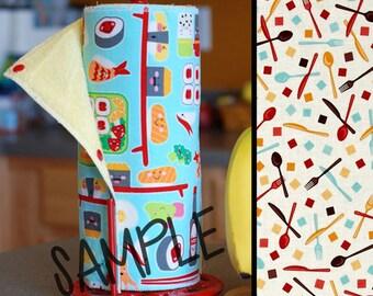 Unpaper Towel | Reusable Paper Towels | Utensils Cream (0433583) Tree Saver Towel | Kitchen Towel | Snapping Cloth Paperless Towel & Wet Bag