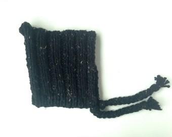 Toddler tweed pixie hat