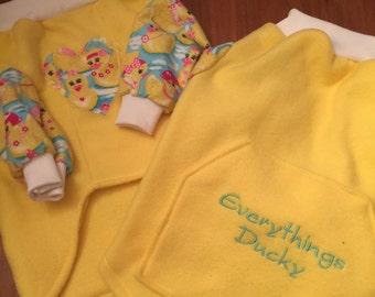 Ready made Fleece Medium Dog Shirt