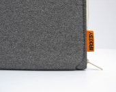 "Laptop Case - 13"" MacBook Pro or Air - Grey Flannel"