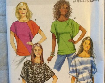 Butterick 5753 - Womens Knit Top- Sewing Pattern - Size Large-XXL