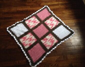Sweet Neopolitan Cotton Baby Blanket