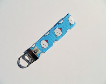 French Cats Key Fob For Mew Cat Lover Key Chain, Gift For Cat Lover