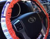Retro Fringed Hippie Chic Non-Slip Steering Wheel Cover