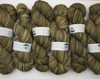 Superwash Merino Wool Sock Yarn in Lichen by Blarney Yarn
