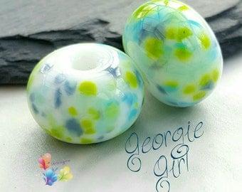 Lampwork Glass Beads Georgie Girl Fritties