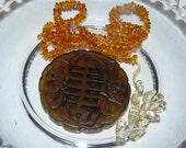 Burnt Jade Pendant Necklace Kit #kit20