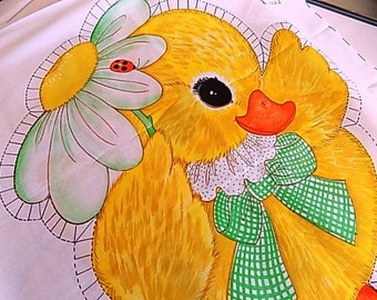 Baby Duckling DIY Pillow Ready To Sew