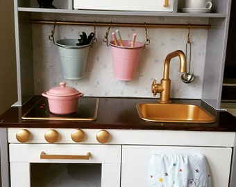 Ikea Duktig Kids Kitchen Makover, Ikea Hack