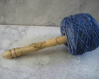 Nostepinne (Center Pull Yarn Winder)  Spalted Tamarind