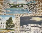 antique postcards lot  Washington DC   Colourpicture Publication  Washington News Co