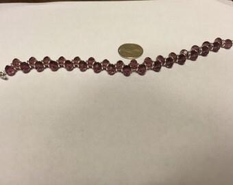 Purple bracelet goddess